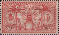 [Weapons and Totem Poles - British-French Joint Issue, type L4]