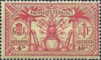 [Weapons and Totem Poles - British-French Joint Issue, type L5]