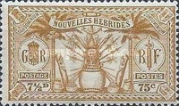 [Weapons and Totem Poles - British-French Joint Issue, type L7]