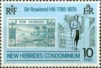 [The 100th Anniversary of the Death of Sir Rowland Hill, 1795-1879 - English Version, type MY]