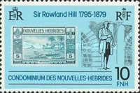 [The 100th Anniversary of the Death of Sir Rowland Hill, 1795-1879 - French Version, type MY1]