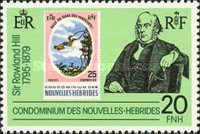 [The 100th Anniversary of the Death of Sir Rowland Hill, 1795-1879 - French Version, type MZ1]
