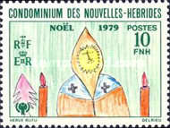 [Christmas and International Year of the Child - Children's Drawings - French Version, type NN1]