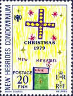 [Christmas and International Year of the Child - Children's Drawings - English Version, type NO]