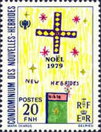[Christmas and International Year of the Child - Children's Drawings - French Version, type NO1]