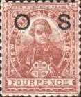 [Postage Stamps Issue of 1888-1889 Overprinted