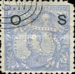 [Postage Stamps No. 74-75 Overprinted