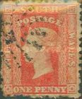 [Queen Victoria - Perforated, type B13]