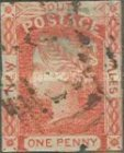 "[Queen Victoria - 4 Winged ""Stars"" in Corners, type B4]"