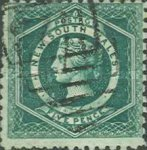 [Queen Victoria - Different Watermark, type D5]