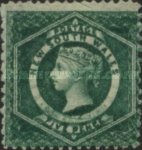 [Queen Victoria - Different Watermark, Typ D6]