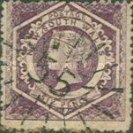 [Queen Victoria - Perforated, type E3]