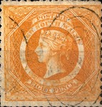 [Queen Victoria - Perforated, type F2]