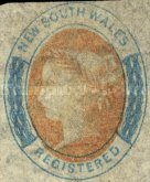 [Queen Victoria - Registration Stamp, Typ H]