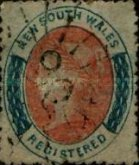 [Queen Victoria - Registration Stamp, Typ H3]