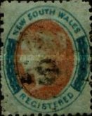 [Queen Victoria - Registration Stamp, Typ H5]