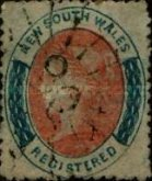 [Queen Victoria - Registration Stamp, Typ H6]