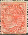 [Queen Victoria - Different Watermark, type K4]