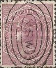 [Queen Victoria - Different Watermark, Typ O1]