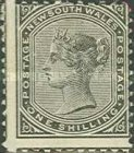 [Queen Victoria - Different Watermark, Typ Q1]