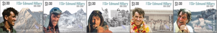 [The 100th Anniversary of the Birth of Edmund Hillary, 1919-2008, Typ ]