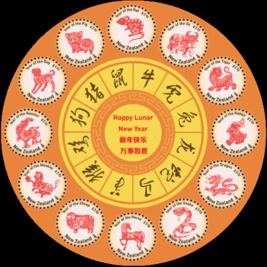[Chinese New Year 2020 - Year of the Rat - Lunar Calendar, type ]