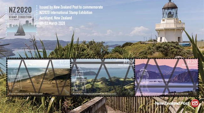 [FIAP International Stamp Exhibition NZ2020, New Zealand - Lighthouses, type ]