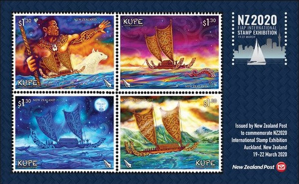 [FIAP International Stamp Exhibition NZ2020, New Zealand - Kupe, type ]