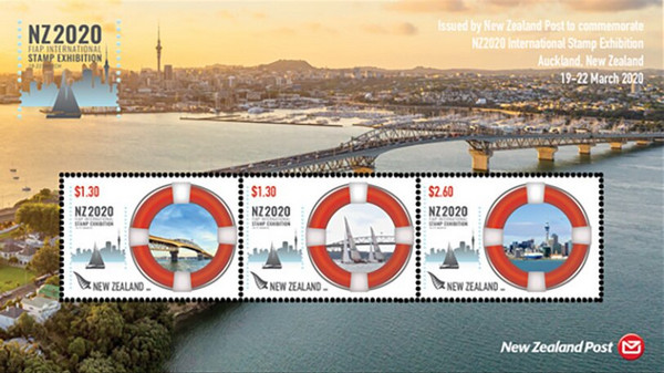 [FIAP International Stamp Exhibition NZ2020, New Zealand - Maritime Views, type ]