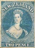 [Queen Victoria 1855 - London Print, type A1]