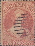 [Queen Victoria -  Perforated by Order from the Dunedin Postmaster, type A14]