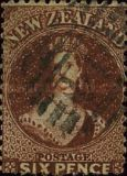 [Queen Victoria -  Perforated by Order from the Dunedin Postmaster, type A16]