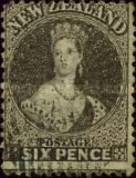 [Queen Victoria -  Perforated by Order from the Dunedin Postmaster, type A17]