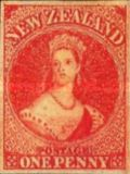 [Queen Victoria - THe 1st Anniversary of the Printing of John Davies, type A19]