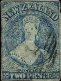 [Queen Victoria - THe 1st Anniversary of the Printing of John Davies, type A22]