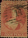 [Queen Victoria - Perforated, type A34]