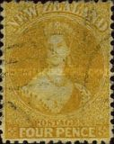 [Queen Victoria - Perforated, type A35]
