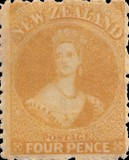 [Queen Victoria - Perforated, type A36]