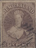 [Queen Victoria - New Watermark, type A44]