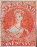 [Queen Victoria - Auckland Print. White Paper, type A6]