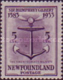 [The 350th Anniversary of the Annexation of Newfoundland to England, Typ EP]