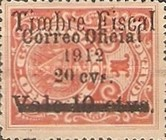 [Postage Stamp of 1911 Overprinted & Surcharged, Typ AD3]