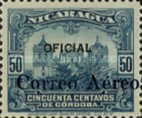 [Airmail - Official Stamps of 1927 Overpinted