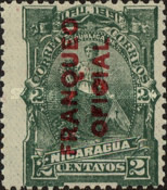 [Postage Stamps of 1891 Overprinted