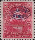 [Postage Stamps of 1898 Overprinted - With or Without Watermark, Typ J7]