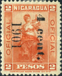 [Postage Stamps of 1898-1899 Overprinted & Surcharged, type M3]
