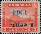 [Postage Stamp of 1898 Overprinted & Surcharged, type O]