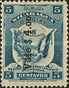 [Postage Due Stamps of 1900 Overprinted