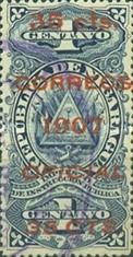 [Revenue Stamps Overprinted & Surcharged, Typ U1]