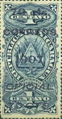 [Revenue Stamps Overprinted & Surcharged, Typ U2]